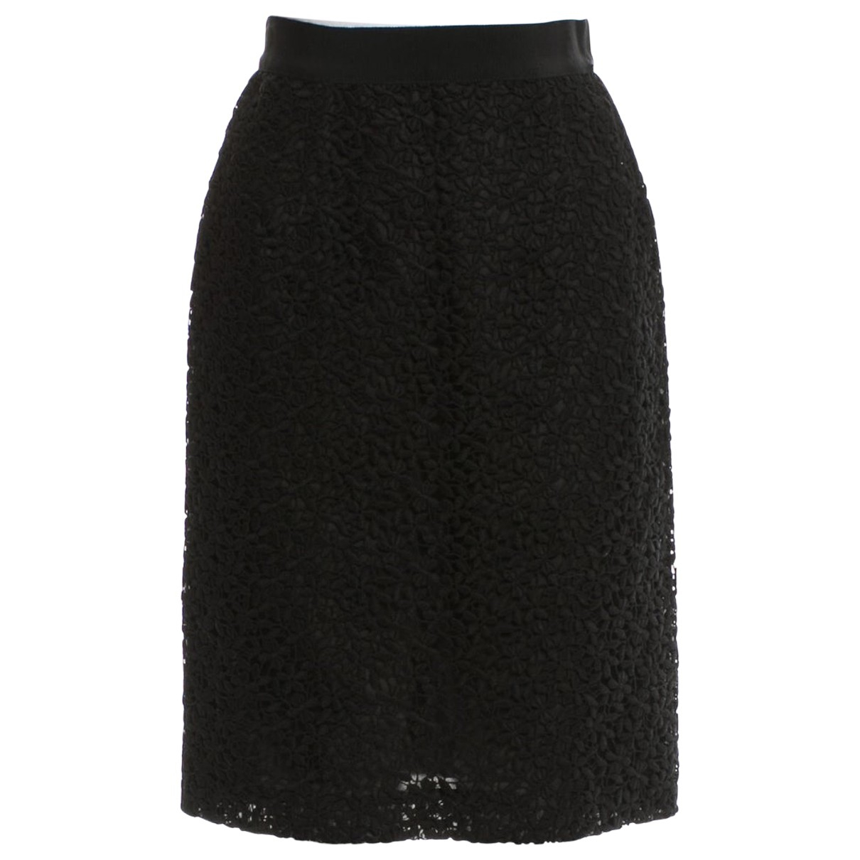 Giambattista Valli \N Black Cotton skirt for Women 40 IT