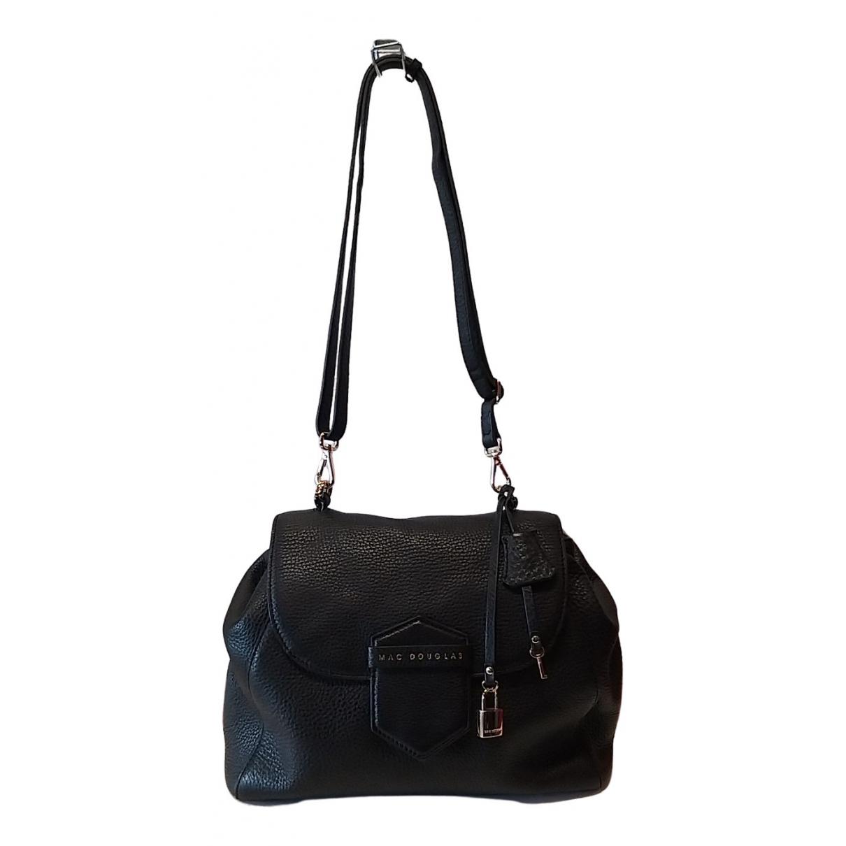 Mac Douglas N Black Leather handbag for Women N
