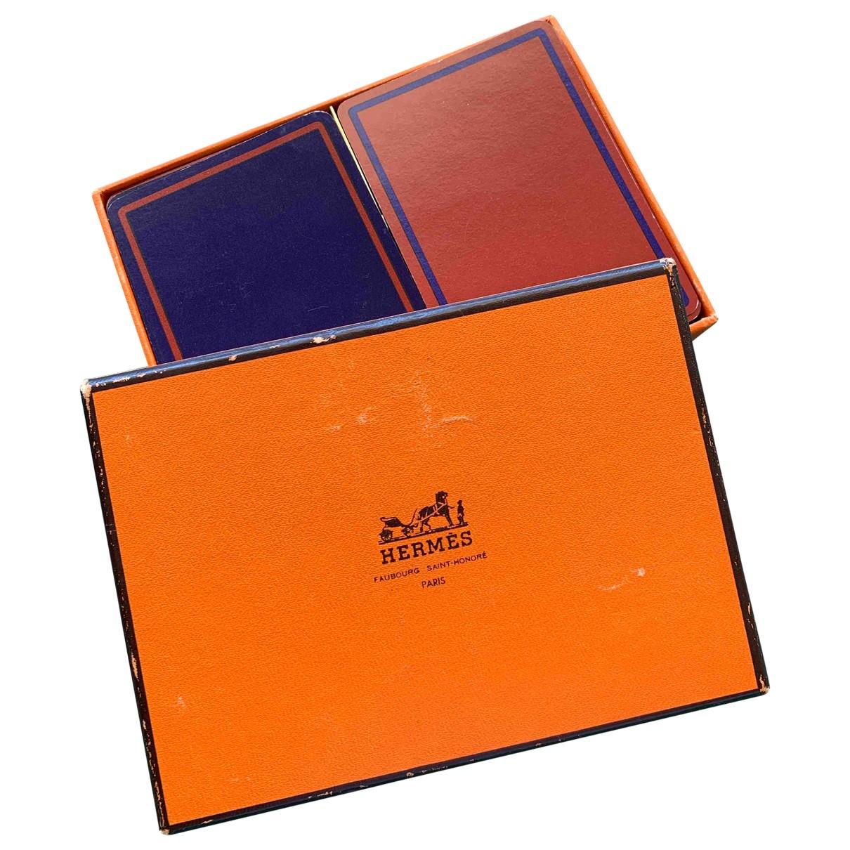 Hermes \N Accessoires und Dekoration Orange