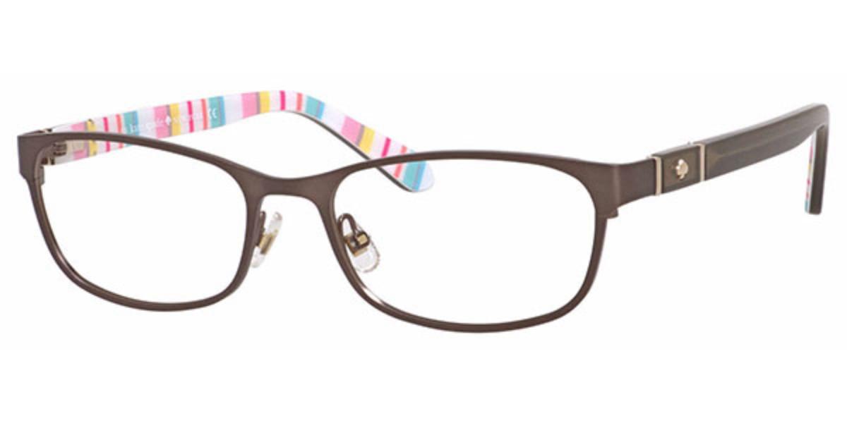 Kate Spade Jayla 0RUG 00 Women's Glasses Brown Size 50 - Free Lenses - HSA/FSA Insurance - Blue Light Block Available