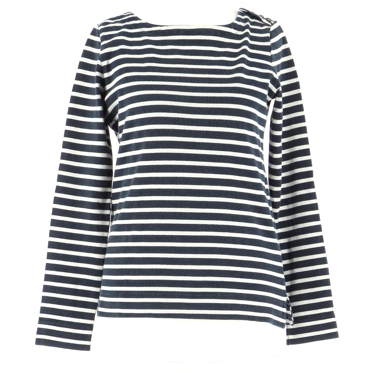 Comptoir Des Cotonniers \N Navy Cotton Knitwear & Sweatshirts for Men 42 FR