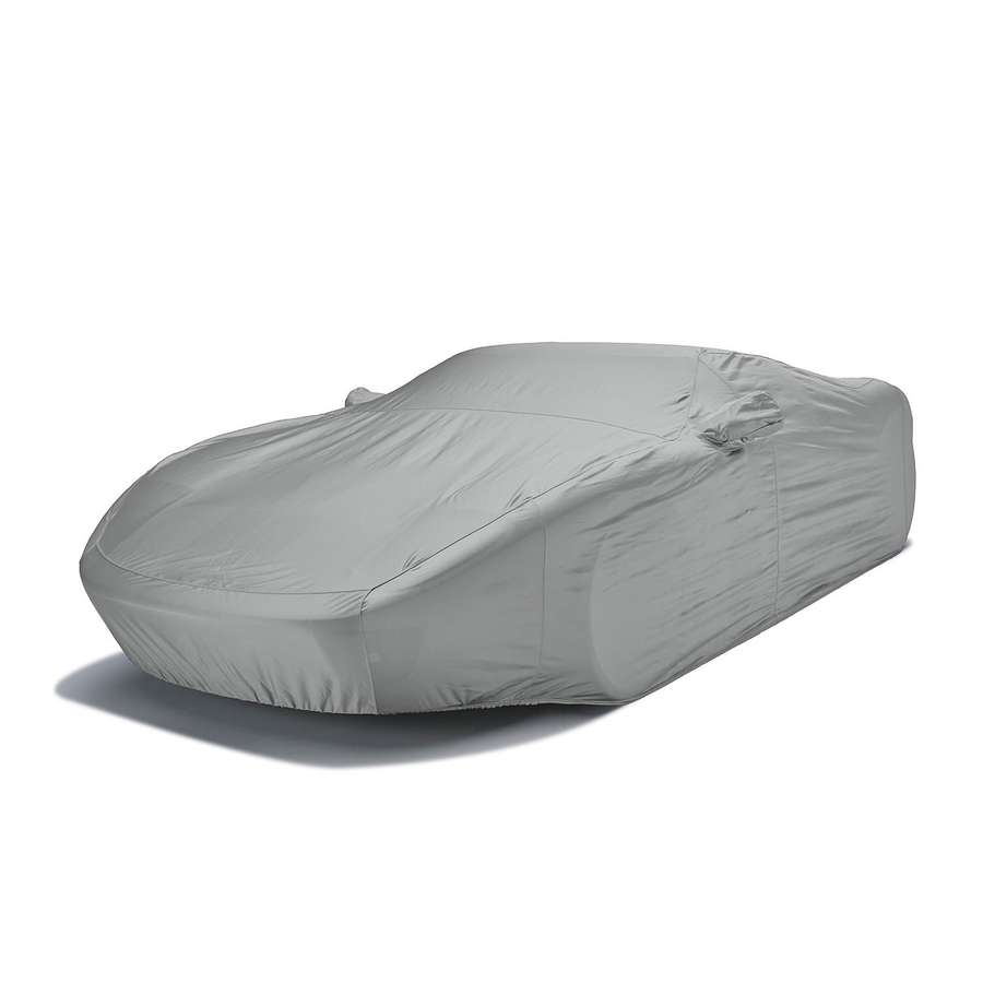 Covercraft FS14617F4 Fleeced Satin Custom Car Cover Gray
