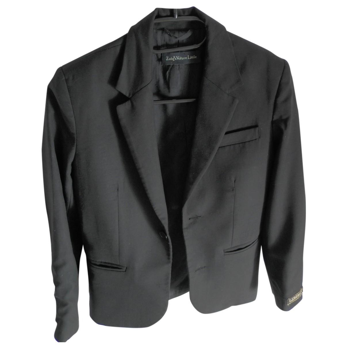 Zadig & Voltaire \N Black Wool jacket for Women 34 FR