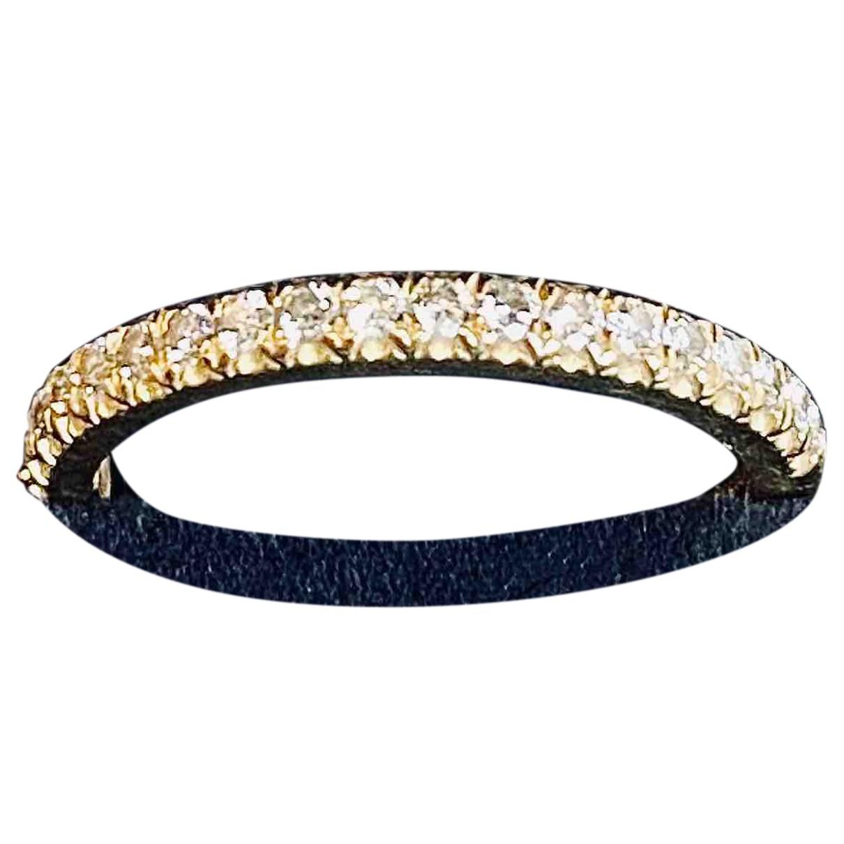 Tiffany & Co - Bague Tiffany Soleste pour femme en or jaune - dore