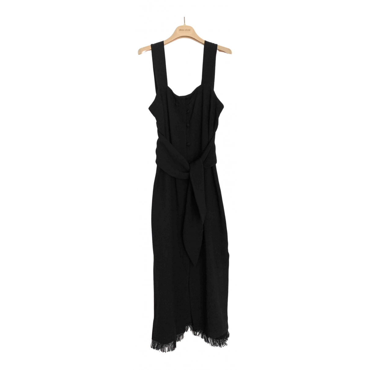 Nanushka \N Kleid in  Schwarz Synthetik