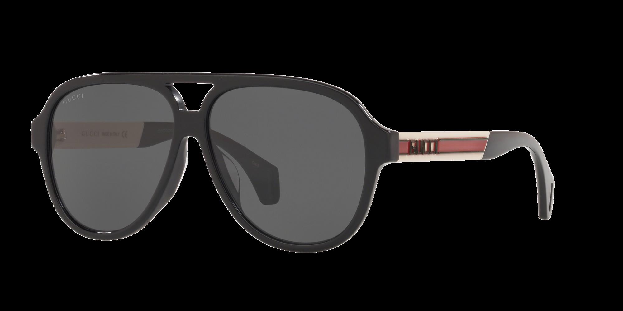 Gucci Unisex  GC001216 -  Frame color: Noir, Lens color: Gris-Noir