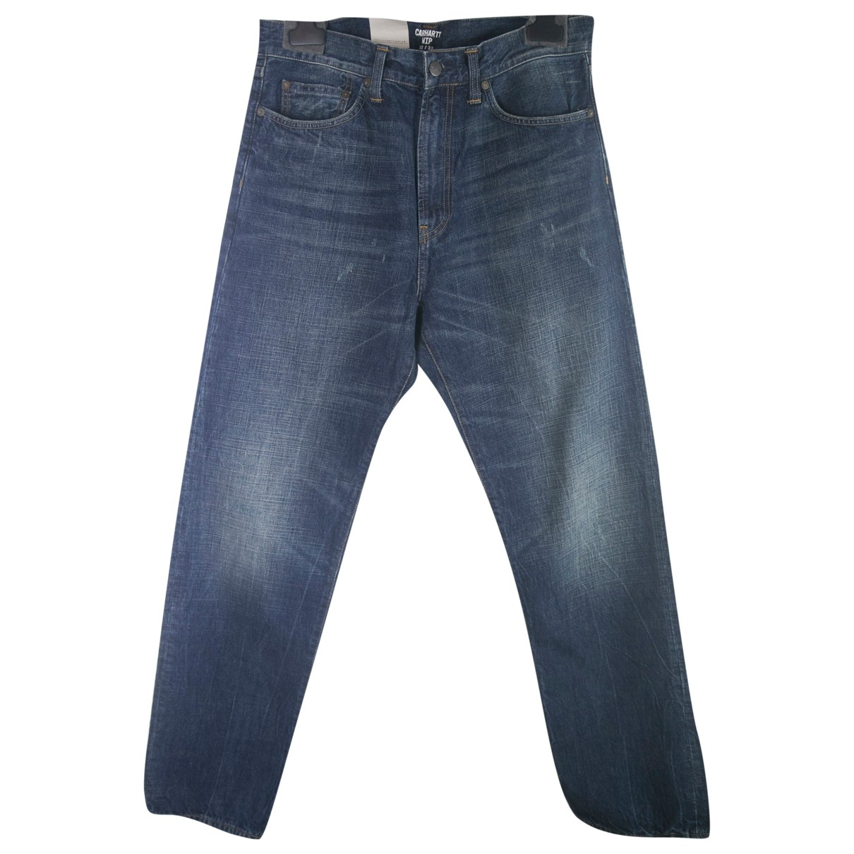 Carhartt \N Blue Cotton Jeans for Men 32 US
