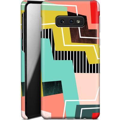 Samsung Galaxy S10e Smartphone Huelle - Color Block I von Susana Paz