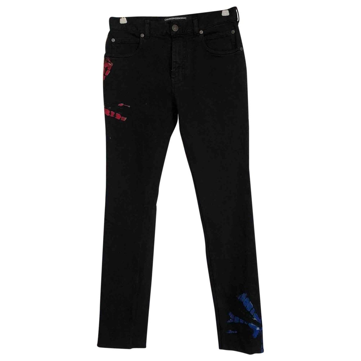 Calvin Klein 205w39nyc \N Jeans in  Schwarz Baumwolle