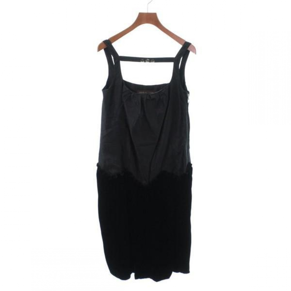 Louis Vuitton \N Black Silk dress for Women 36 FR