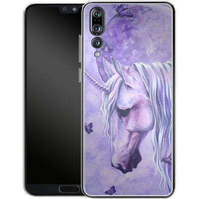 Huawei P20 Pro Silikon Handyhuelle - Moonlit Magic von Selina Fenech
