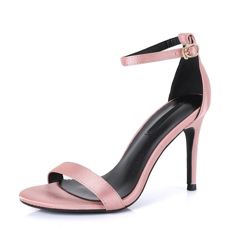Ericdress Line-Style Buckle Open Toe Heel Covering Casual Sandals