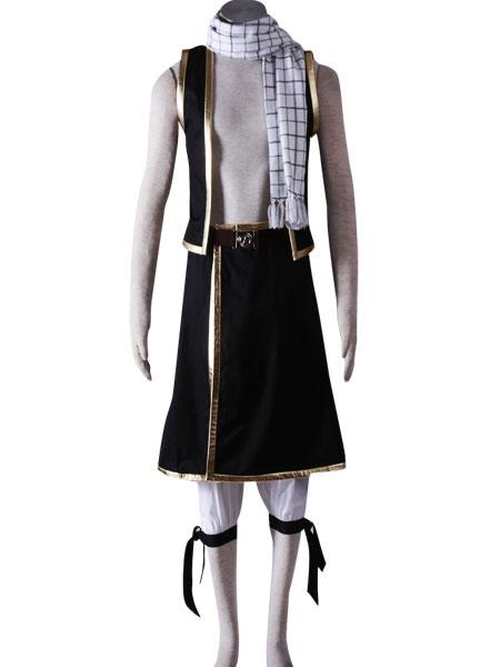 Milanoo Fairy Tail Natsu Halloween Cosplay Costume Halloween