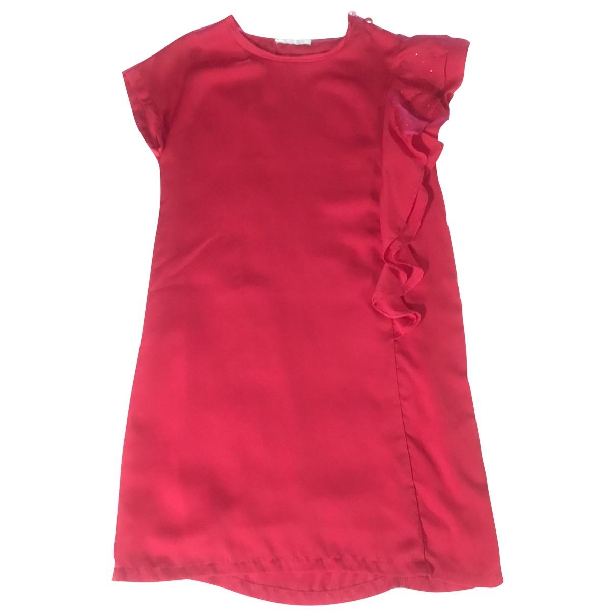 Liu.jo - Robe    pour enfant - rouge