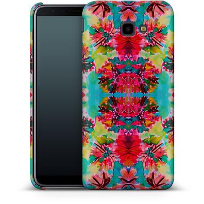 Samsung Galaxy J4 Plus Smartphone Huelle - Tropical Floral von Amy Sia