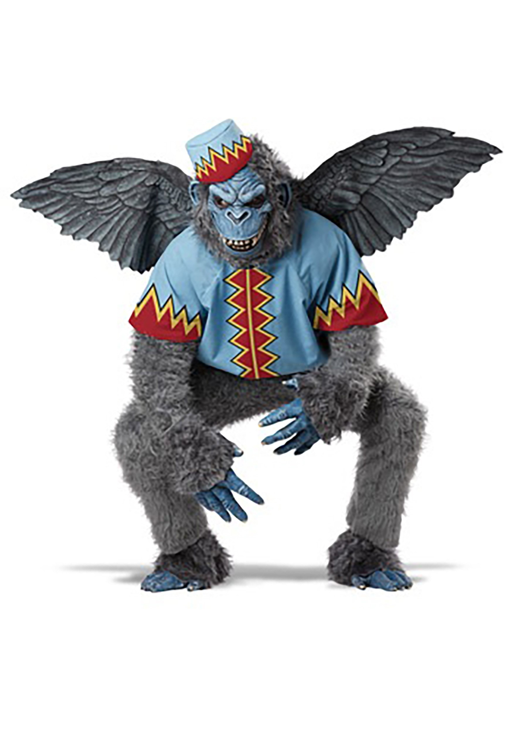 Adult Scary Winged Monkey Costume   Movie Character Costumes