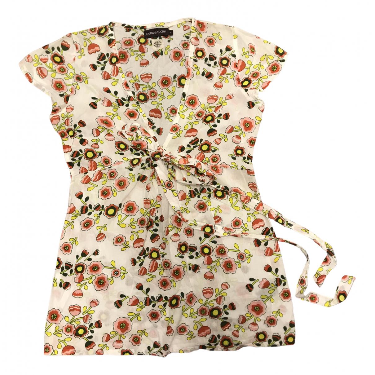 Antik Batik \N White Cotton  top for Women S International