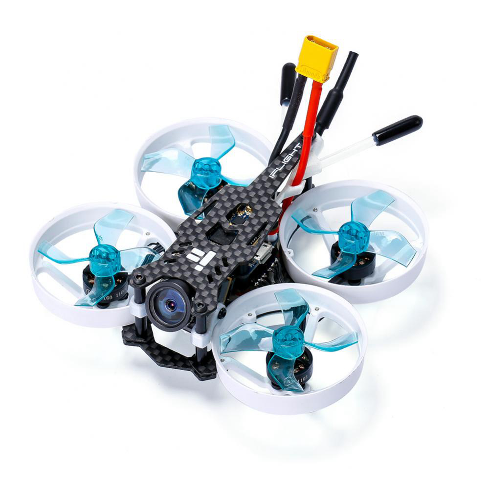 Iflight CineBee 75HD 75mm 2S F4 Whoop FPV Racing Drone With Caddx Turtle V2 Camera BNF - Flysky FS-A8S V2 Receiver