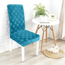 Flower Print Stretchy Chair Cover