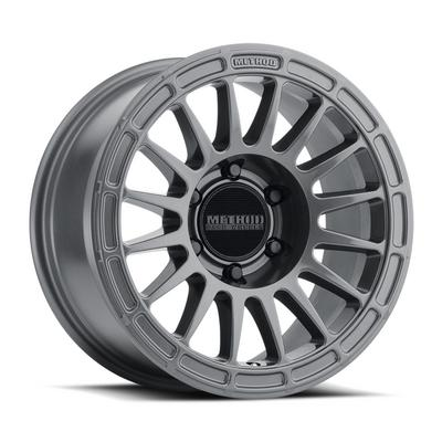 Method Race Wheels 314, 18x9 with 8 on 180 Bolt Pattern - Gloss Titanium - MR31489088818