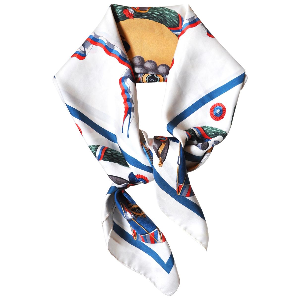 S.t. Dupont \N Multicolour Silk Silk handkerchief for Women \N