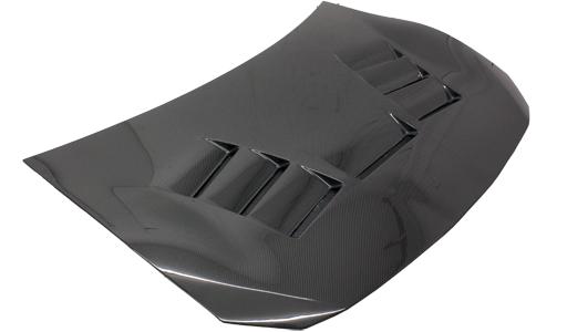 VIS Racing 13SNFRS2DNSC-010C N Spec Style Black Carbon Fiber Hood Scion FRS 13-17