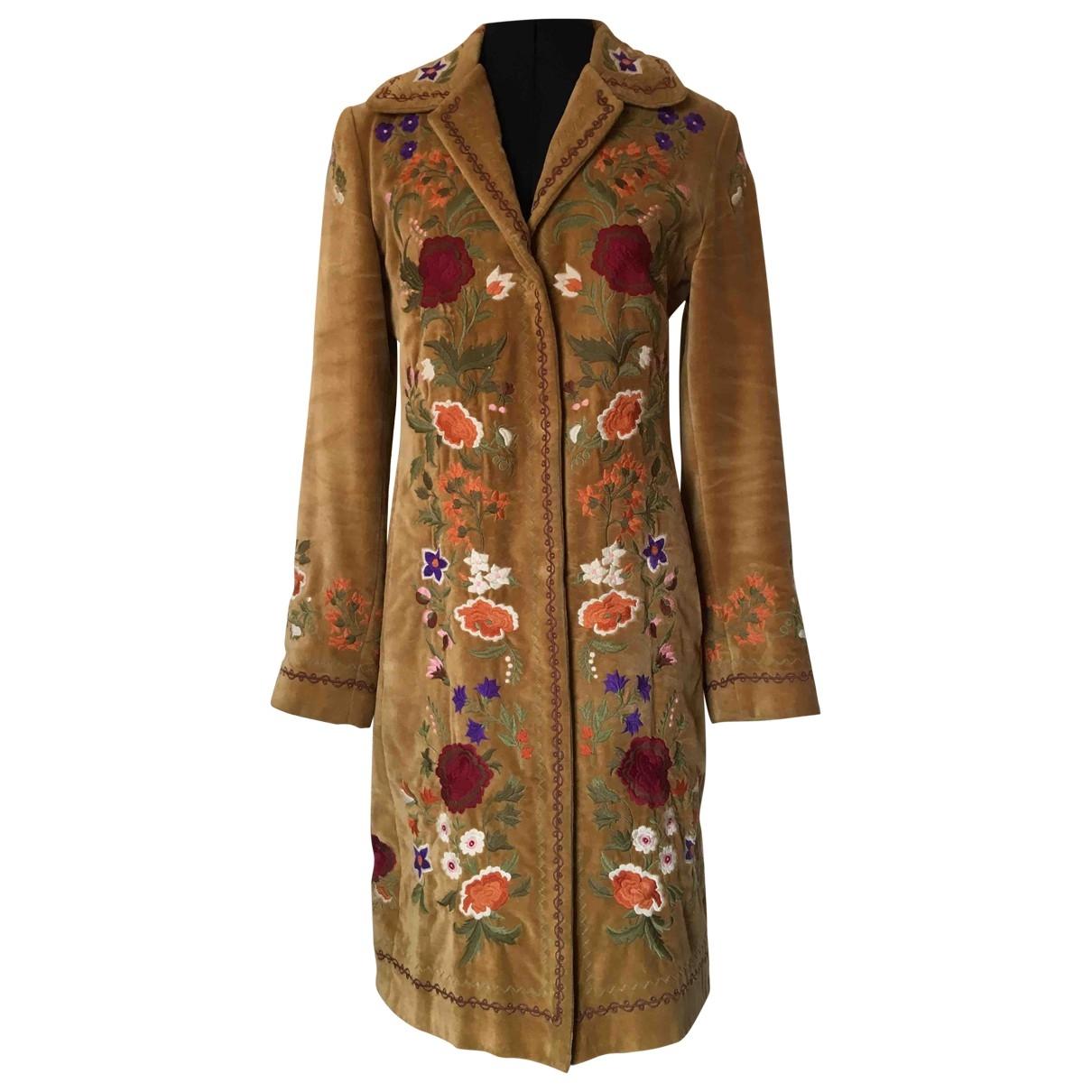 Liu.jo - Manteau   pour femme en coton - camel
