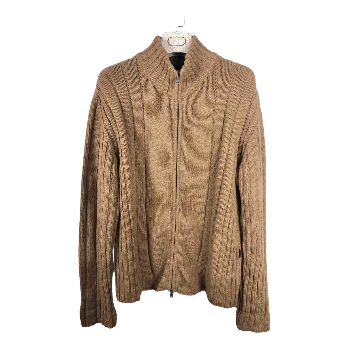 Boss \N Pullover.Westen.Sweatshirts  in  Kamel Wolle