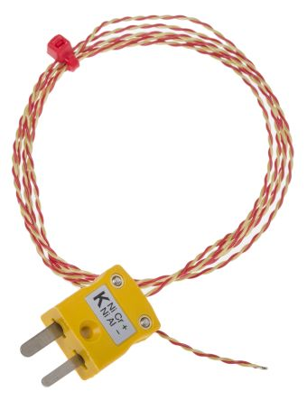 RS PRO ANSI K PFA Exposed Junction + MP, 1m