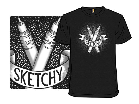 Sketchy T Shirt
