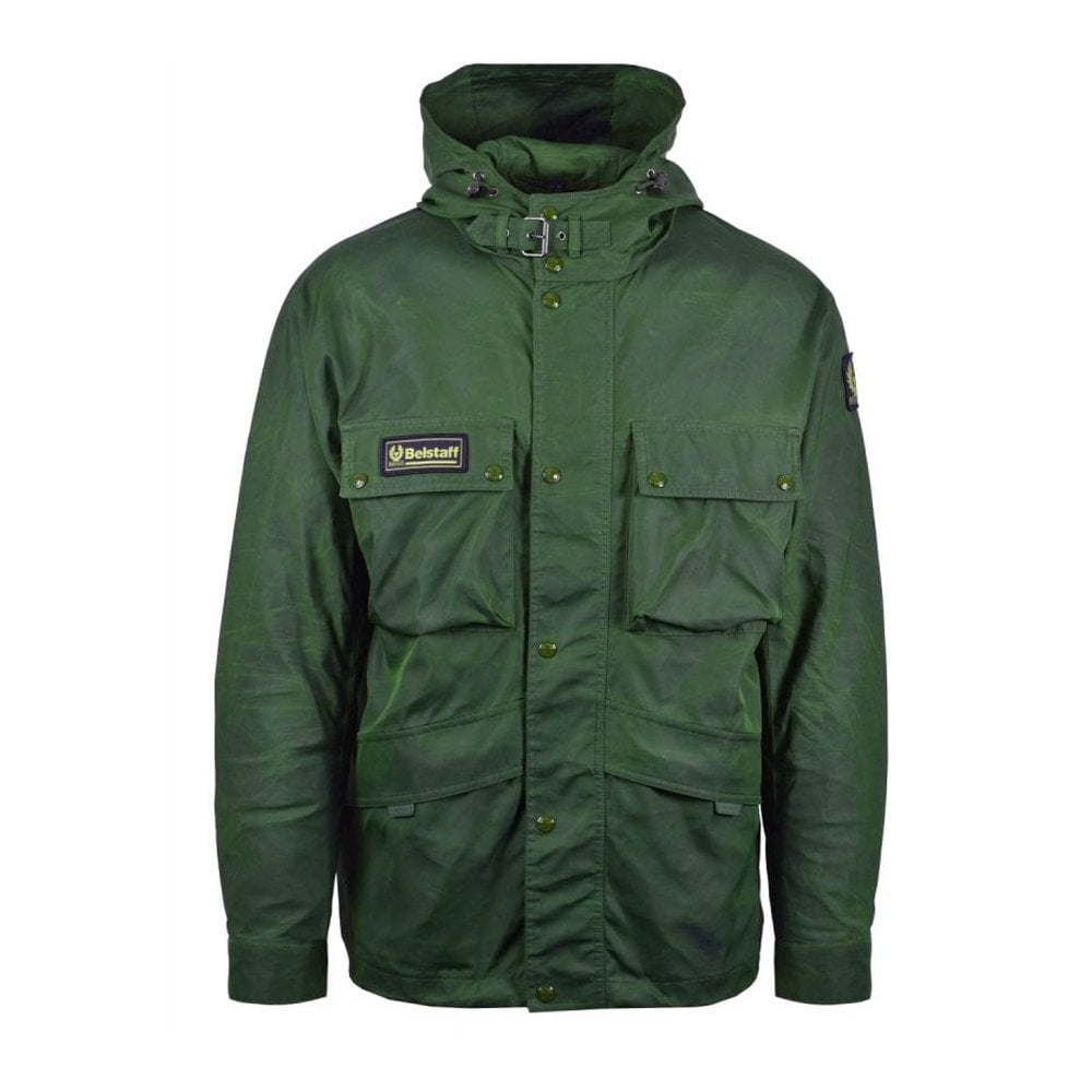 Belstaff Parka Jacket Colour: GREEN, Size: EXTRA LARGE