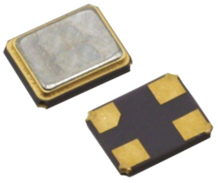CTS 24MHz Crystal Unit ±10ppm Seam Weld, SMD 4-Pin 3.2 x 2.5 x 0.75mm (3000)