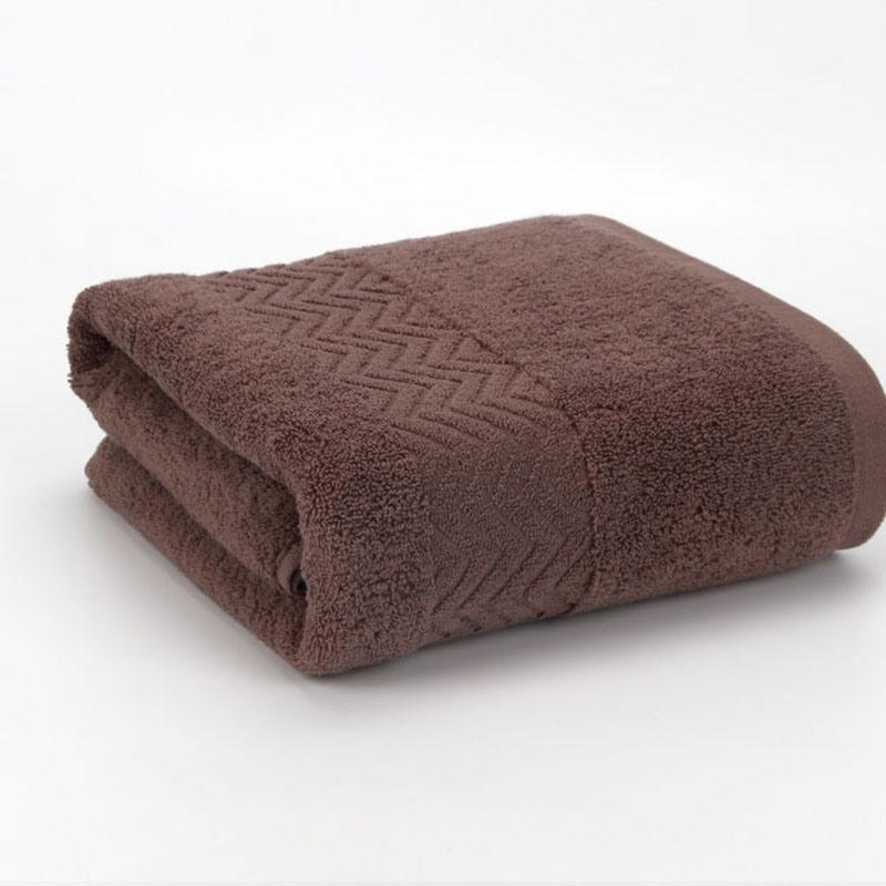 Ericdress Solid Colour Cotton Bath Towel