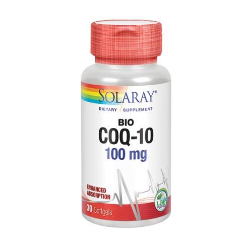 Bio CoQ10 30 Softgels by Solaray