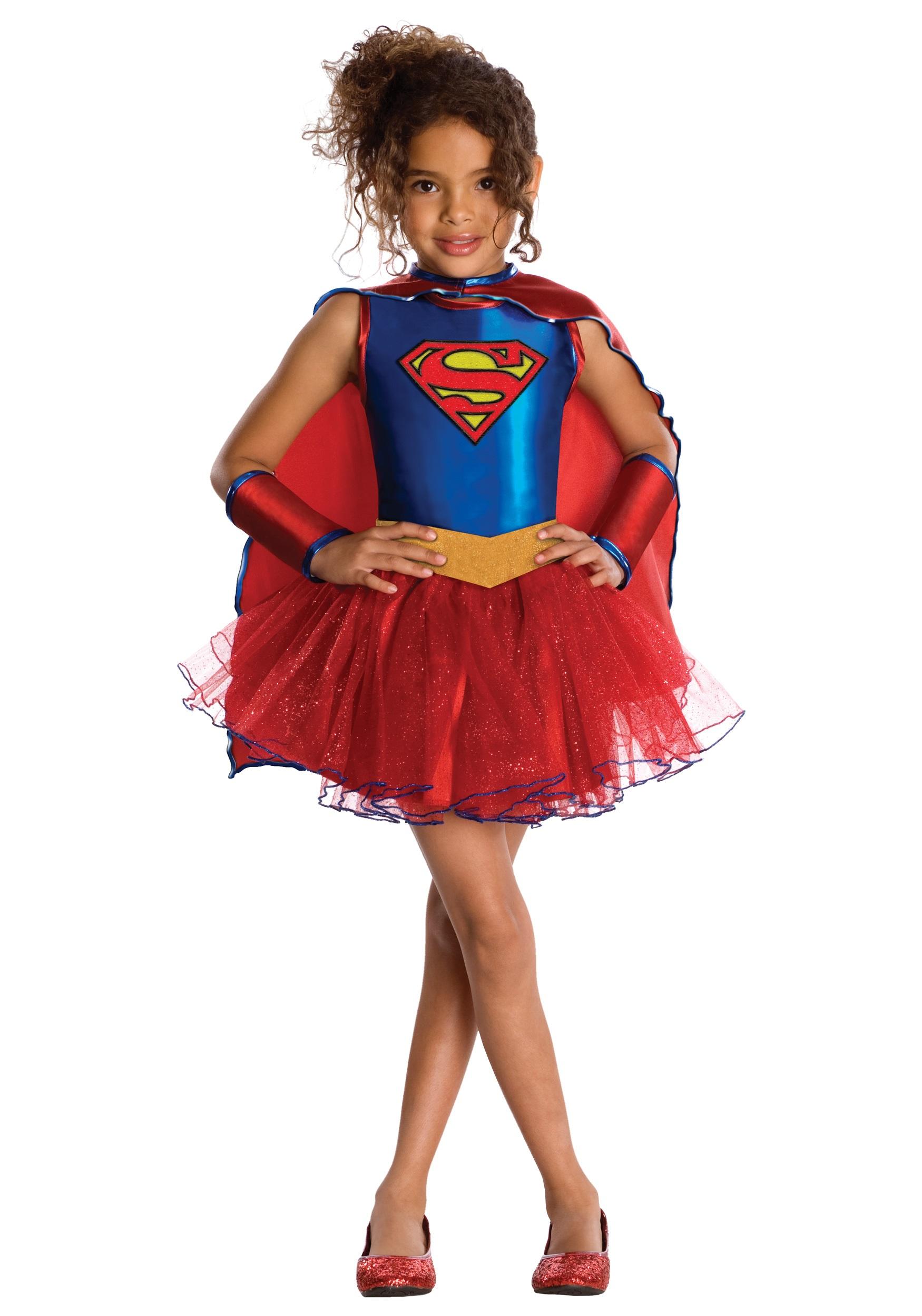 Supergirl Tutu Costume for Toddlers