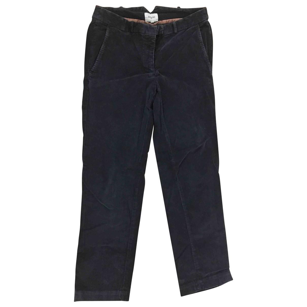 Bellerose - Pantalon   pour femme en velours - gris