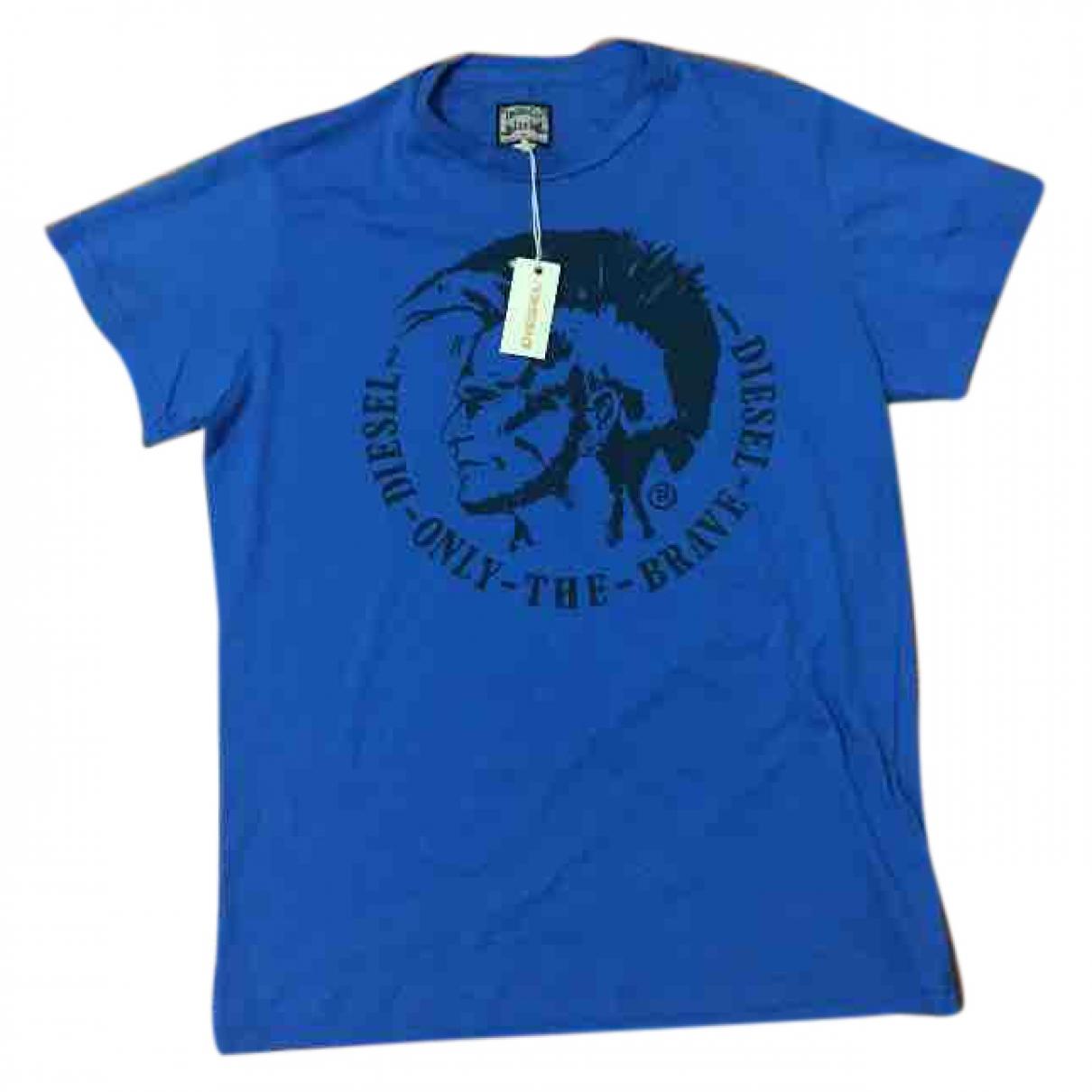 Diesel \N T-Shirts in  Blau Baumwolle