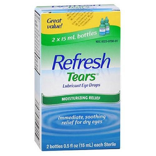 Refresh Tears Lubricant Eye Drops 1 oz by Refresh