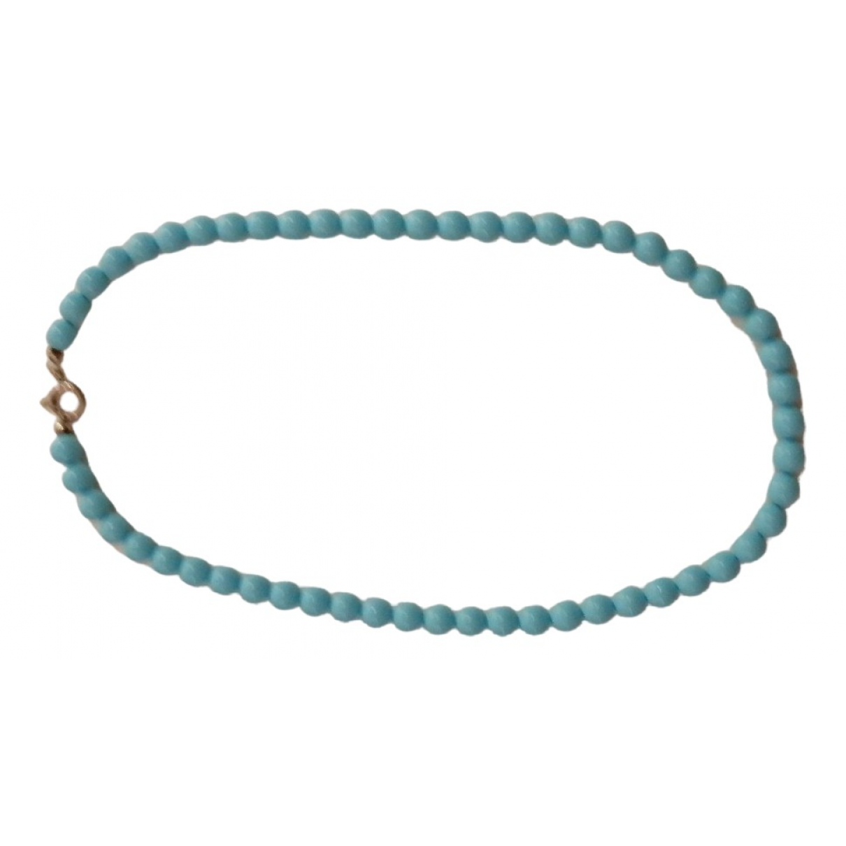 - Collier   pour femme en perle - turquoise