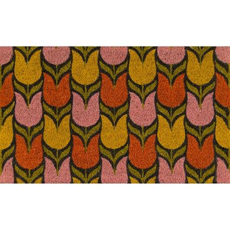 Novogratz By Momeni Aloha Tulips Rectangular Indoor/Outdoor Rugs, One Size , Multiple Colors