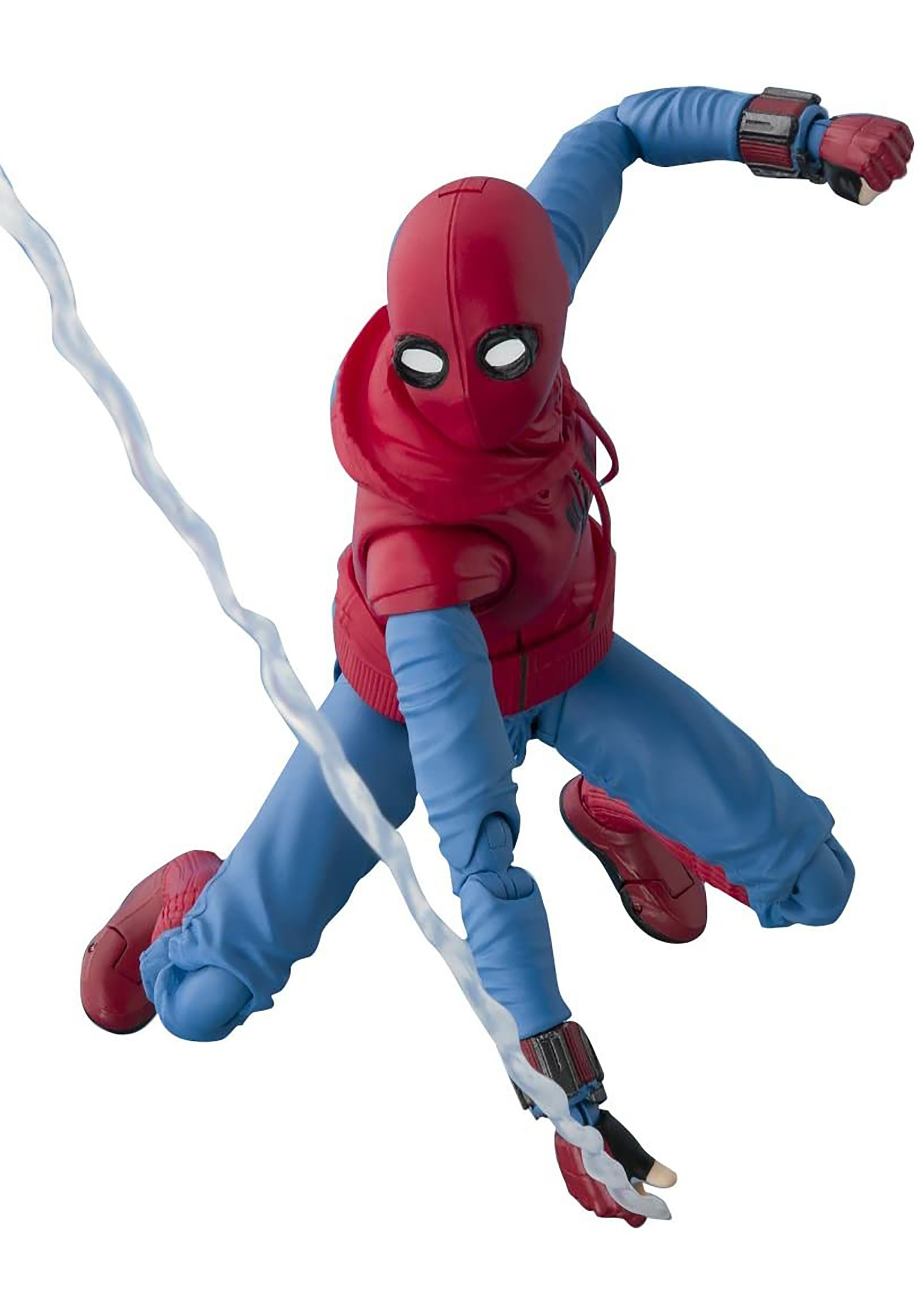 SpiderMan: Homecoming SpiderMan Homemade Suit