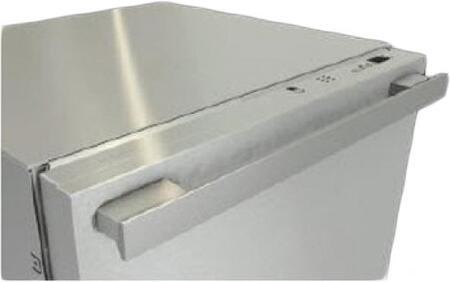 GFVi615771D Clean Touch Steel Door Panel with ContourLine Handle Handle and 4