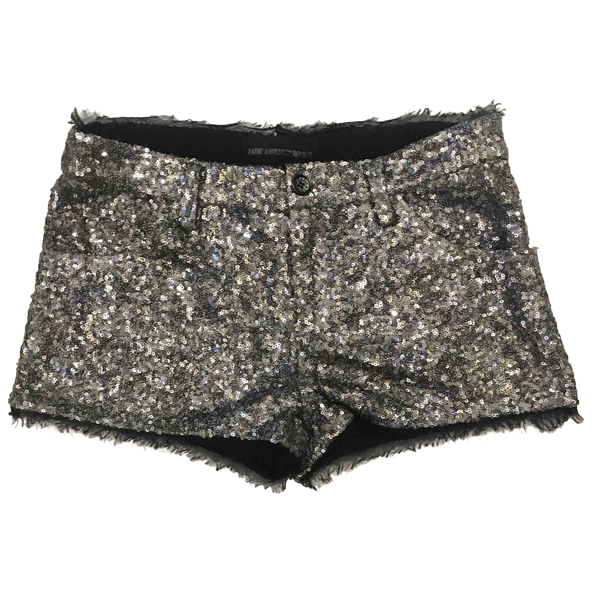 Zadig & Voltaire \N Silver Glitter Shorts for Women 36 FR