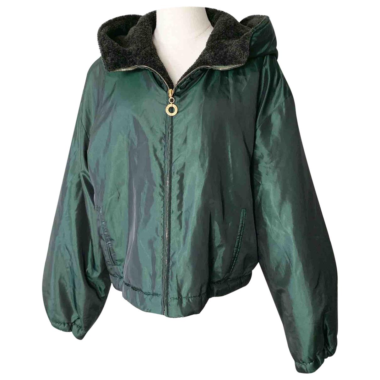 Celine - Veste   pour femme en laine - vert