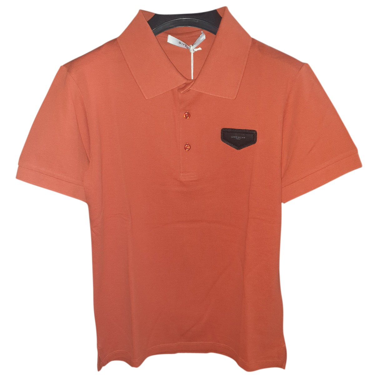 Givenchy - Polos   pour homme en coton - orange
