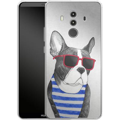 Huawei Mate 10 Pro Silikon Handyhuelle - Frenchie Summer Style von Barruf