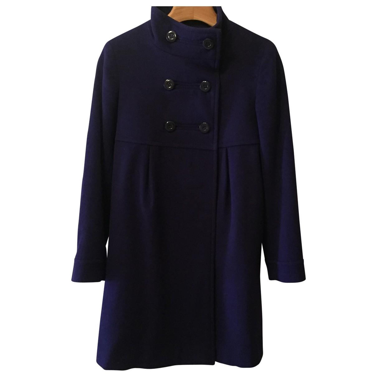Uniqlo \N Purple Wool coat for Women 34 FR