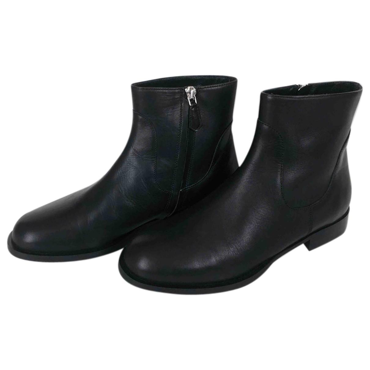 Lk Bennett \N Black Leather Boots for Women 36 EU