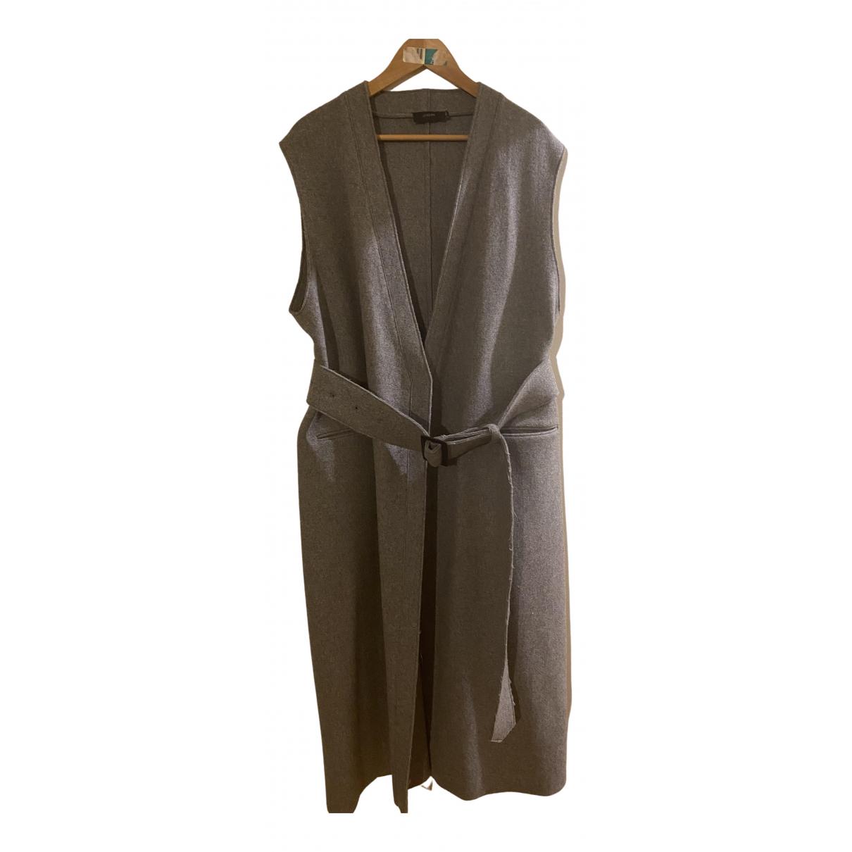Joseph \N Grey Wool coat for Women 40 FR