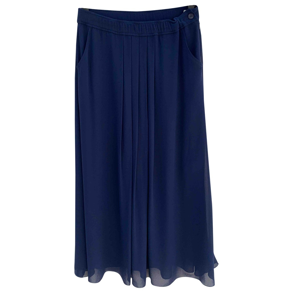 Max & Co \N Blue skirt for Women 42 IT